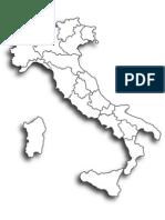 Cartina Italia da personalizzare