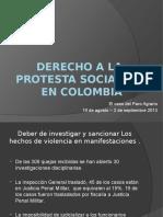 Diapositivas Derecho a La Protesta