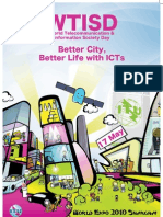 Better city, better life with ICTs - 17 May 2010