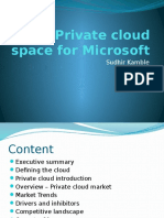 Private Cloud Space for Microsoft