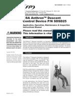 Anthron Descender Instruction Manual - En