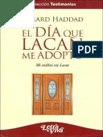 El día que Lacan me adoptó [Gérard Haddad].PDF
