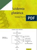 Acidemia glutárica