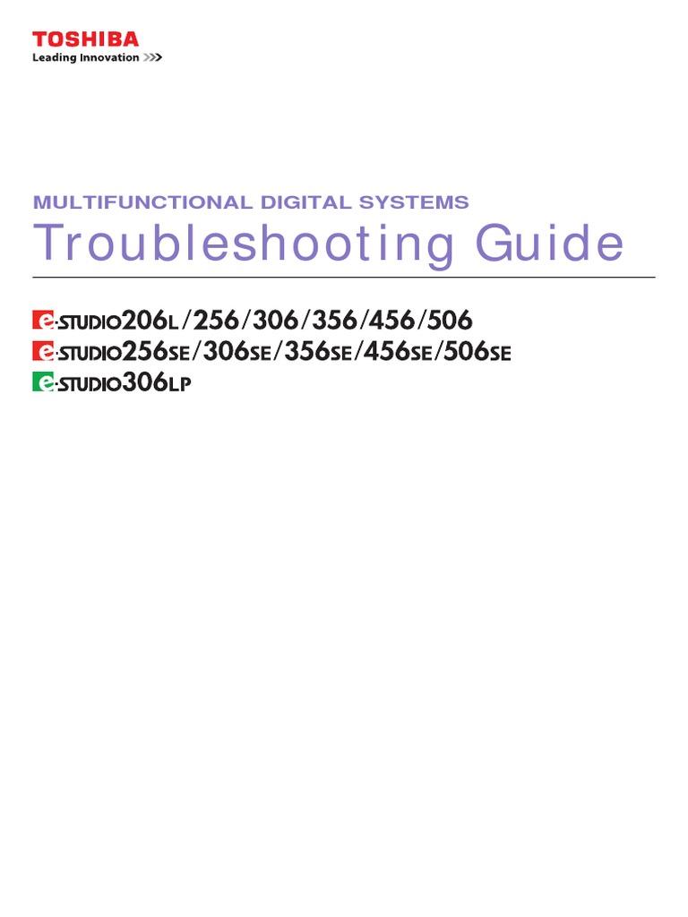 toshiba e studio 456 user manual