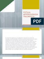 FAT fistula arteriovenosa