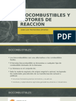 Biocombustibles,Motores de Reaccion