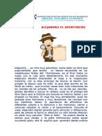 Cuento Alejandro El Aventurero