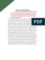 Resumen Completo Teatro Español
