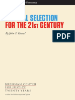 Judicial Selection For The 21st Century