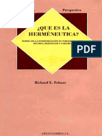 Que Es La Hermeneutica