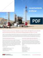 Artificial Lift Summary - Espanol
