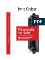 Psicoanalisis Sin Divan Irene Greiser