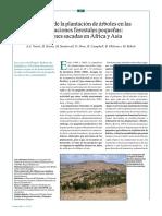 Fomento de La Plantación de Árboles en Las Explotaciones Forestales Pequeñas