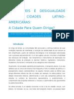 Fabio Prieto Automóveis e Desigualdades