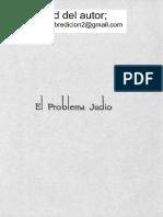 El Problema Judio Alfonso Castro