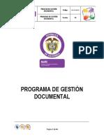 Programa Gestion Documental