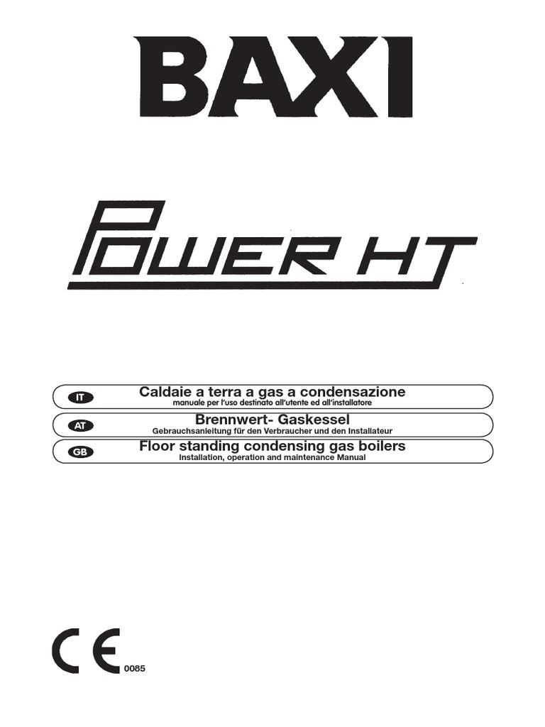 baxi power ht installation operation manual thermostat water heating rh scribd com siemens qaa73 manuel