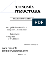Economia Destructora salvador borrego