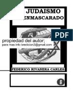 El Judaismo Desenmascarado  Federico Rivanera Carles