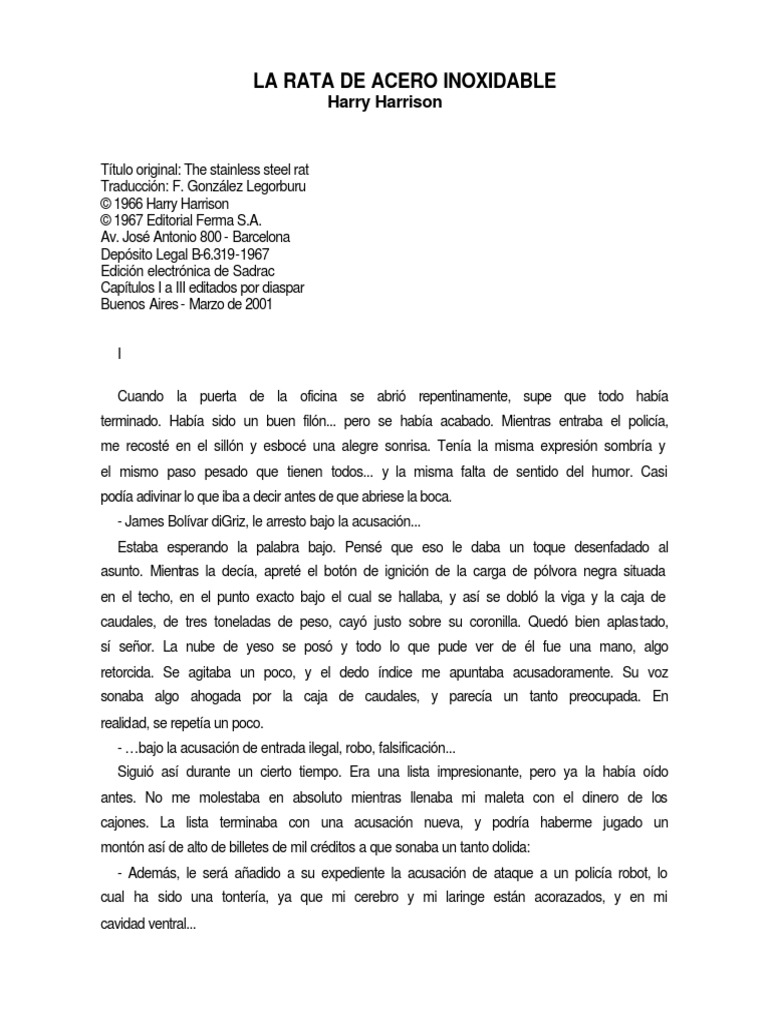 La Rata de Acero Inoxidable.PDF