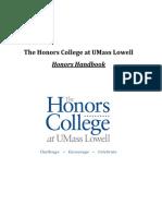 Honors College Handbook