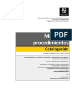 Manual de Procedimientos de Catalogación. (Claudia Beati)..pdf