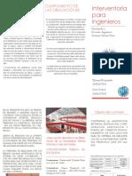 INTERVENTORIA UD 2016 BIBLIOTECA UD