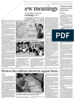 Western duo cultivate interest in organic farms - Agrachina Travel_Media Clipping_China Daily -Page 20 - By Mei Jia