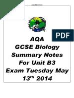 b3 summary notes  1
