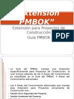 Extensión Para Proyectos de Construcción de La Guía PMBOK