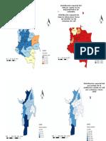 Mapas de Cali y Colombia