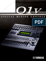 Yamaha O1v Digital Mixing Console