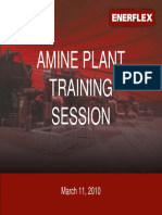 2010 Amine Training Session