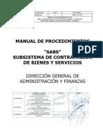 Manual de Procedimiento de Contrataciones INRA