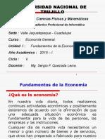 UNIDAD I-Fundamentos de La Economía - Informatica
