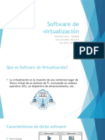 Software de Virtualización