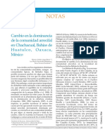 López,Pérez Ramón a._cambio en La Dominancia de La Comunidad Arrecifal en Chachacual, Bahías de Huatulco, Oaxaca, México_.PDF