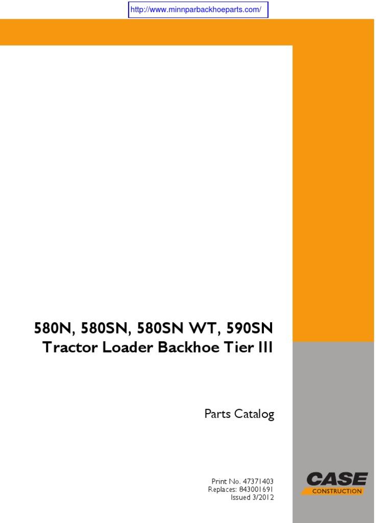 Case 580 backhoe parts | ebay.