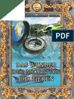 Das Wunder Der Migration Bei Tieren. German Deutsche