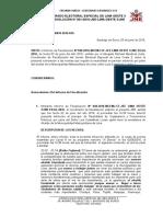 JEE Abren proceso a Luis Castañeda por reunirse con candidata presidencial