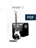 Peavey Axecelerator 5 Manual