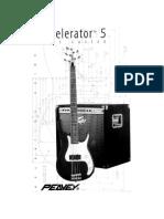 Peavey Axecelerator 5 Manual