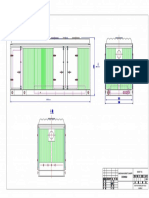 Overall Drawing of 650KW Genset Canopy