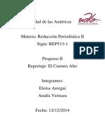 Reportaje El Carmen Alto