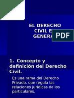 Tema 1 Derecho Civil en General