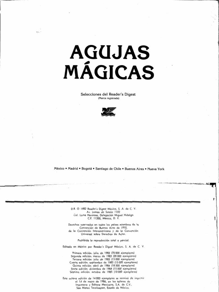 AGUJAS MAGICAS..