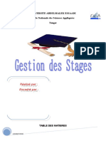 Rapport Gestion Stage
