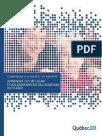 Rapport Urgences 2016 du Commissaire à la santé et au bien-être