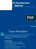 Pengantar Karakterisasi Material