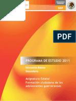 Formacion Ciudadana de Los Adolescentes Guerrerenses_version